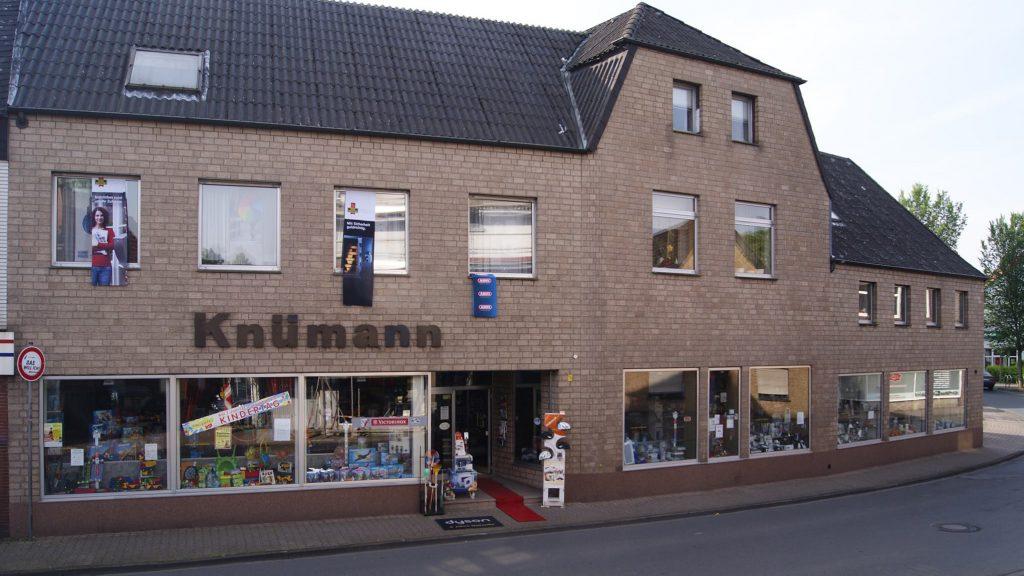 Ladenlokal Knümann heute