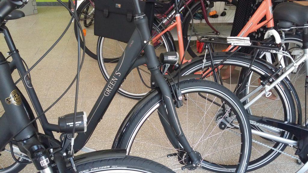 Alles fürs Fahrrad gibts bei Knümann